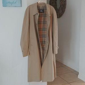 Burberry Nova check Khaki men's trench coat 54